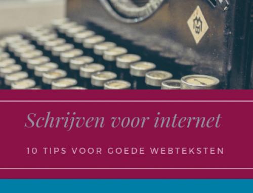 Hoe schrijf je goede teksten voor internet? 10 Tips